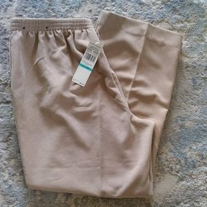 New Alfred Dunner Corduroy Stretch Waist Pants 16P
